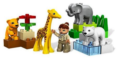 Детская игрушка Lego Bricks More Зоопарк для малышей (4962)