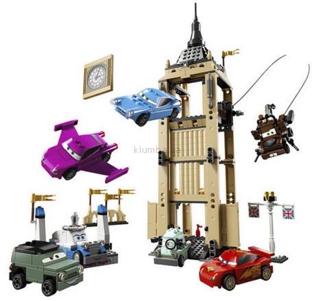 Детская игрушка Lego Cars 2 Побег из Большого Бэнтли  (8639)
