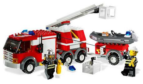 Детская игрушка Lego City Пожарная машина (7239)