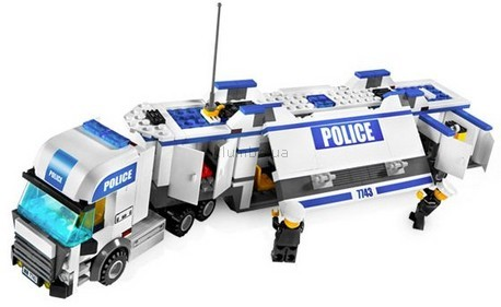 Детская игрушка Lego City Полицейский грузовик (7743)