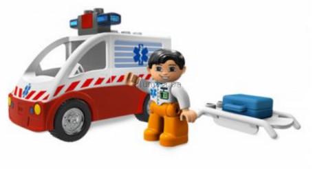 Детская игрушка Lego Duplo Машина скорой помощи (4979)