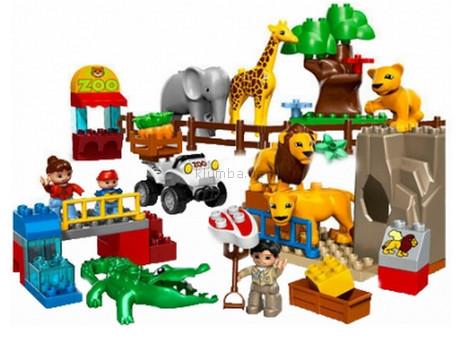 Детская игрушка Lego Duplo  Кормление в зоопарке (5634)