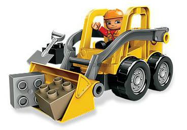 Детская игрушка Lego Duplo Фронтальный погрузчик (5650)