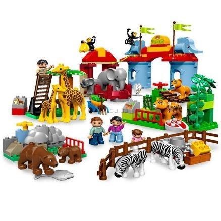 Детская игрушка Lego Duplo Большой городской зоопарк (5635)