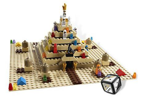 Детская игрушка Lego Games Пирамида Рамзеса (3843)