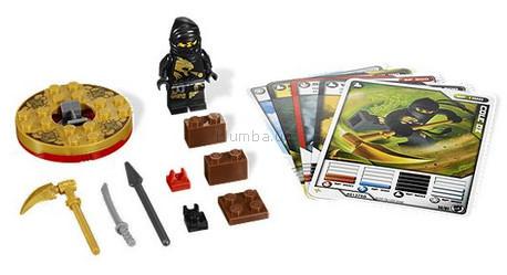 Детская игрушка Lego Ninjago Ниндзя Коул DX (2170)