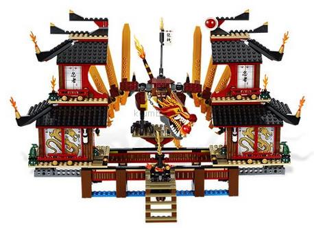 Детская игрушка Lego Ninjago Огненный Храм (2507)