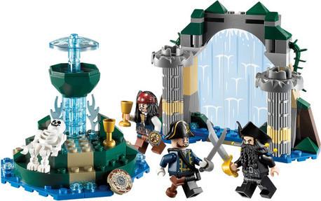 Детская игрушка Lego Pirates of the Caribbean  Фонтан вечной молодости (4192)