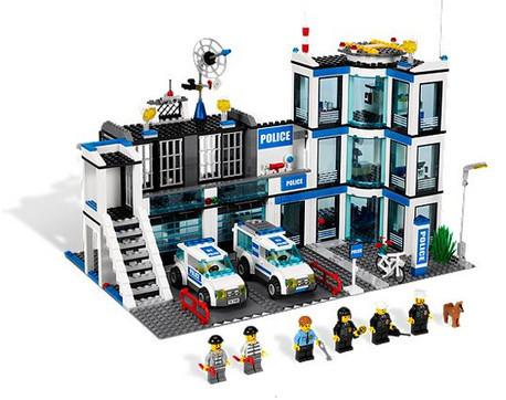 Детская игрушка Lego City Полицейский участок (7498)