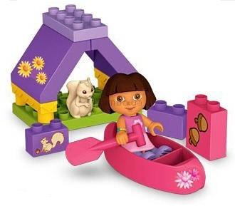 Детская игрушка MEGA Bloks Дора, Приключения в лагере