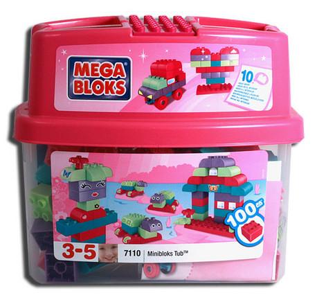 Детская игрушка MEGA Bloks Конструктор Розовый