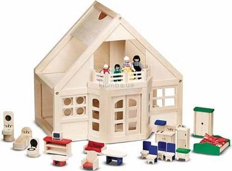 Детская игрушка Melissa&Doug Деревянный домик с куклами