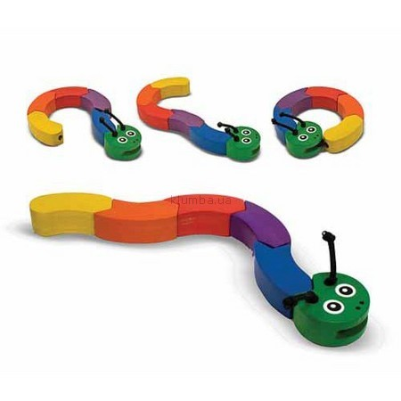 Детская игрушка Melissa&Doug Игрушка-манипулятор Гусеница