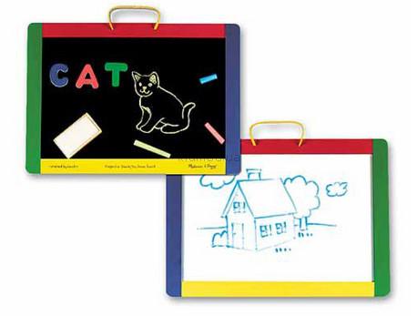 Детская игрушка Melissa&Doug Магнитная доска и Доска для рисования