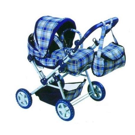 Детская игрушка Melogo Классическая коляска для кукол (9368)