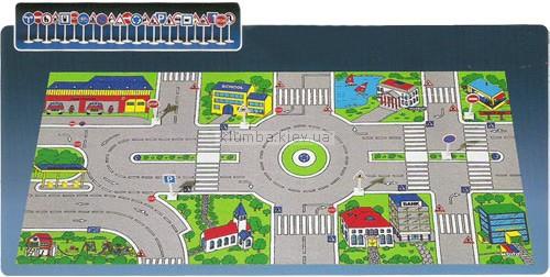 Детская игрушка Molto План города + 25 дорожных знака
