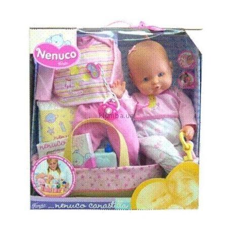 Детская игрушка Nenuco Пупс Nenuco с набором аксессуаров для новорожденного