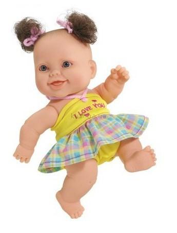 Детская игрушка Paola Reina Девочка европейка, Я тебя люблю