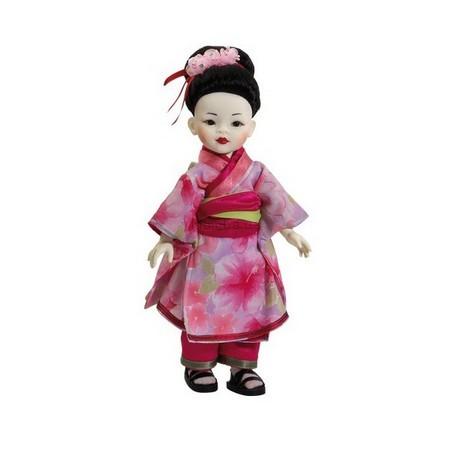 Детская игрушка Paola Reina Гейша с белым лицом