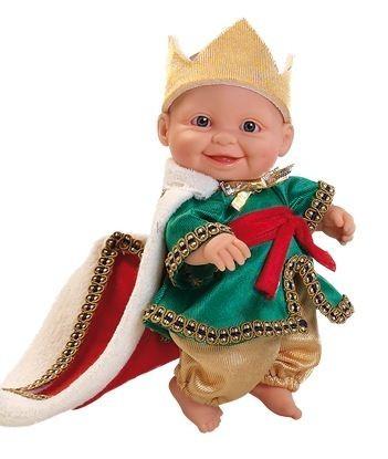 Детская игрушка Paola Reina Младенец принц в зеленом