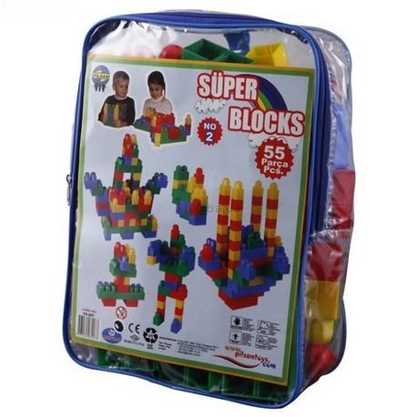 Детская игрушка Pilsan Конструктор (55 деталей)