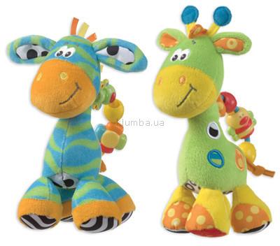 Детская игрушка Playgro Дружок (Зебра или Жираф)