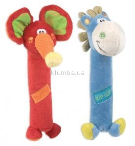 Детская игрушка Playgro Пищалка (Слоненок или Пони)