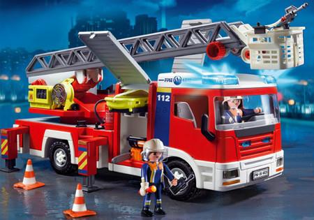 Детская игрушка Playmobil Пожарная машина
