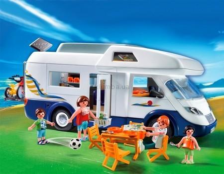 Детская игрушка Playmobil Семейный дом на колесах