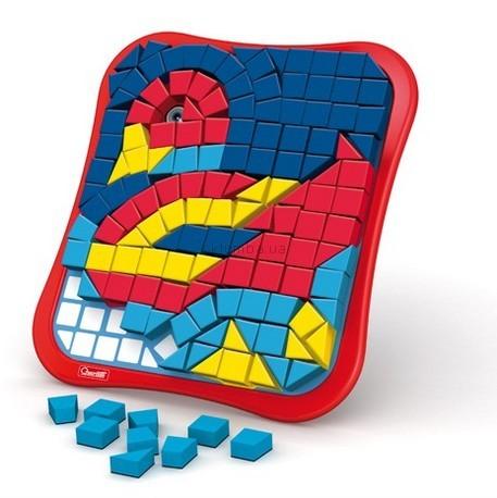 Детская игрушка Quercetti Магнитная мозаика Животные