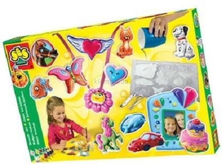 Детская игрушка Ses Набор для изготовления фигурок и  украшений из гипса
