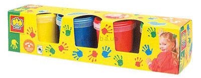 Детская игрушка Ses Набор гуаши  Рисуем пальцами (0305)