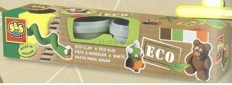 Детская игрушка Ses Незасыхающая масса для лепки, Натуральные цвета Эко