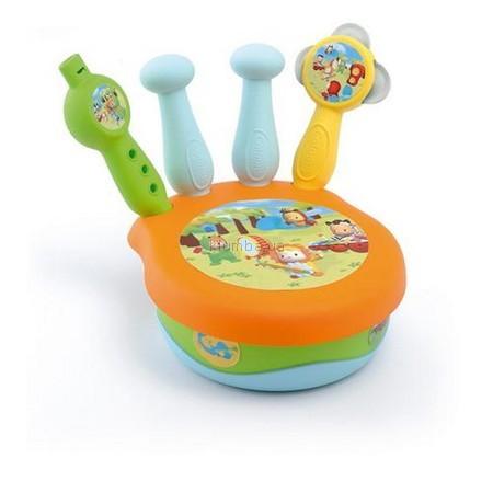Детская игрушка Smoby Cotoons Барабан-оркестр