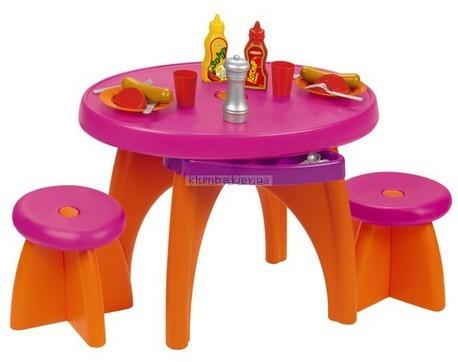 Детская игрушка Smoby Обеденный стол и аксессуары  (Ecoiffier)