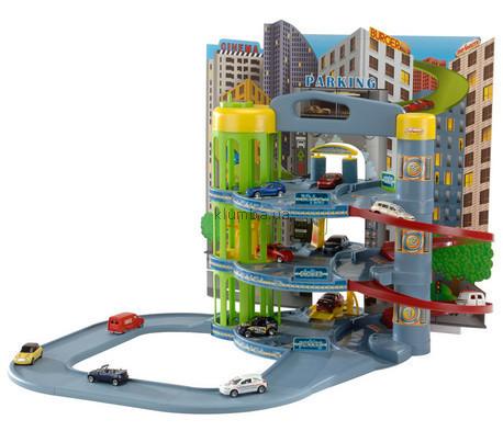 Детская игрушка Smoby Паркинг с 10 машинами (Majorette)