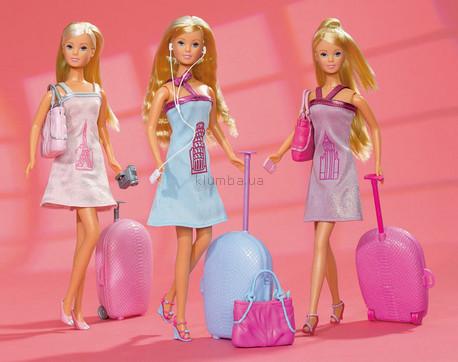 Детская игрушка Steffi Love Штеффи Круиз по Европе с чемоданом
