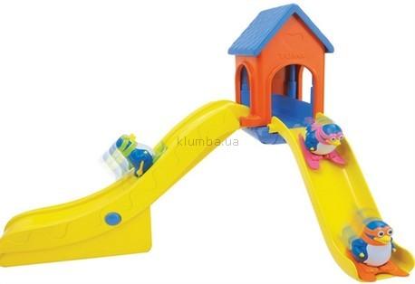 Детская игрушка Tomy Пингвины на водной горке