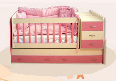 Детские кровати-трансформеры от 0 до 3-х и от 0 до 12 лет, Турция