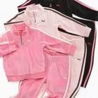 Puma, Спортивный костюм девочке на 2-3 года, оригинал, розовый велюр.Новый
