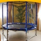 Батуты для все семьи, для детей и взрослых! Батуты с защитной сеткой.183 см