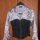 Блуза-корсет для стройных девушек р.XS-S