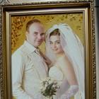 Янтарный портрет под заказ
