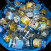 Продам баночки из под детского питания с хорошими крышками