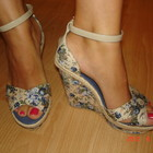 Тканевые сандали р.35