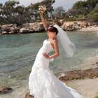 шикарное свадебное платье р.s/m!!!!