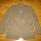 Полушерстяной пиджак р.52/6 одет один раз 150грн