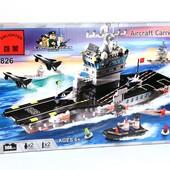Конструктор 826 Военный корабль, Авианосец, Brick, Брик