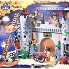 Конструктор детский 310 Пиратская крепость, Brick, 366 деталей. Брик