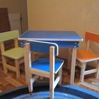 Мебель (стол, стул) для дома и детского сада